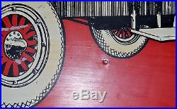 Vintage Pankey Oils Metal Sign 22 X 13 3/4 Inches Rare Find