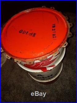Vintage Pegasus Mobil Gas/Oil Company 16 Gallon Can/Barrel Sign RARE