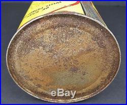 Vintage Penn Bee Pure Pennsylvania Motor Oil Can 1 Qt. Elk City Oklahoma Sealed