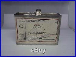 Vintage Polarine 1/2 Gallon Special Heavy Oil Can Empty 461-z