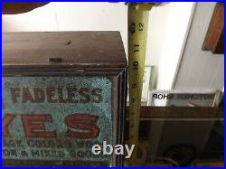 Vintage Putnam Dye Cabinet Wooden Box Advertising Gas Oil Soda Cola