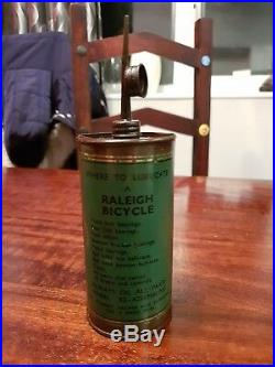 Vintage Raleigh Industries Cycle Oil Can Nottingham