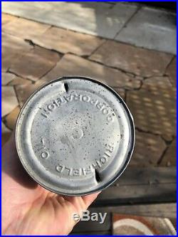Vintage Rare Richfield Richlube Eastern Motor Oil Quart Can Very Nice Condition