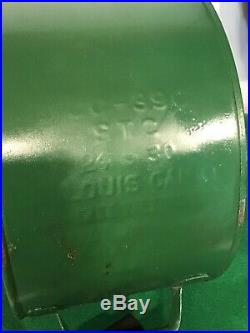 Vintage Sinclair Opaline Motor Oil 5 Gallon Rocker Can Quite Nice Original 1930