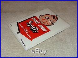 Vintage Spiffy A Swell Cola Drink 7 Porcelain Metal Soda Pop Coca Gas Oil Sign