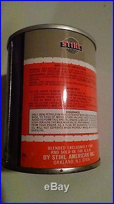 Vintage Stihl 8 oz Bar & Chain Oil Can RARE SCARCE Chainsaw NOS