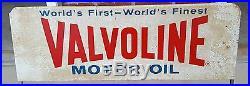 Vintage Valvoline Oil Can Display Rack Gas Service Station