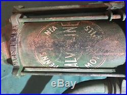 Vintage Valvoline Oil Pump Drum