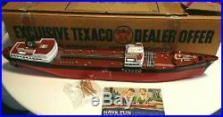 Vintage Wen-mac Texaco Oil Tanker Ship North Dakota Mib